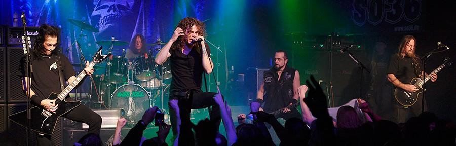 Overkill – Tourdaten 2012
